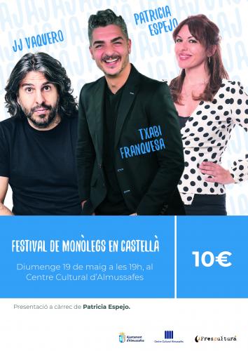 FESTIVAL DE MONÒLEGS EN CASTELLÀ