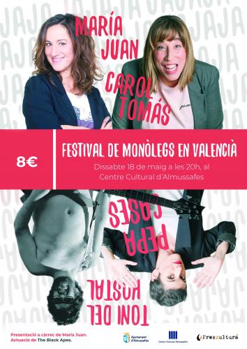 FESTIVAL DE MONÒLEGS EN VALENCIÀ